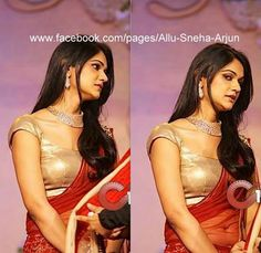sneha reddy Indian Gowns, Indian Outfits, Sneha Reddy, Function Dresses, House Of Blouse, Actor Photo, Diamond Jewellery, Celebs, Celebrities