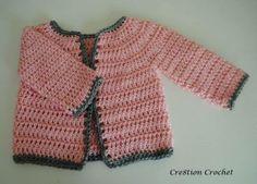 Crochet chaleco