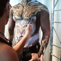 .@pumps_and_gloss (Pumps and Gloss) 's Instagram photos | Webstagram - #tmschicago Mehron body art!