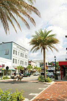 Donnelly Street in Mt. Dora, Florida