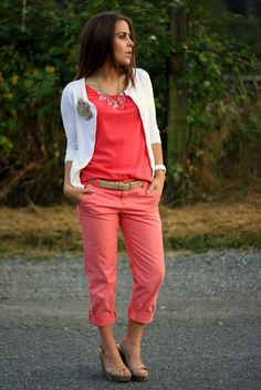 la vie petite: does this outfit make me look pink?