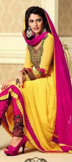 403650: Anarkali modeled by 'Sixteen' movie actress #IzabelleLeite
