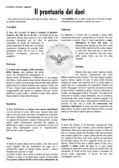 i doni dello spirito santo disegni - Cerca con Google Little Prayer, Holy Family, Lent, Catholic, Prayers, Faith, Google, Italian Language, Dios