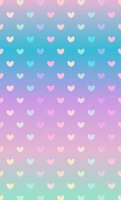Iphone Wallpaper - Gradient pastel heart wallpaper: - Iphone and Android Walpaper Phone Wallpaper Images, Cute Wallpaper For Phone, Heart Wallpaper, Love Wallpaper, Cellphone Wallpaper, Pattern Wallpaper, Iphone Wallpaper, Rainbow Wallpaper, Glitter Wallpaper