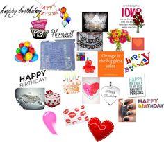"""happy birthay"" by hugo-verga-morada on Polyvore"