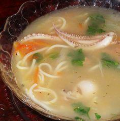 Supa de fructe de mare la multicooker-ul Oursson