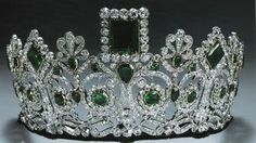 Tiara and Parure luscious emeralds once belonging to Josephine Bonaparte now belong to Queen Sonja of Norway