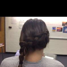 Inside out side braid