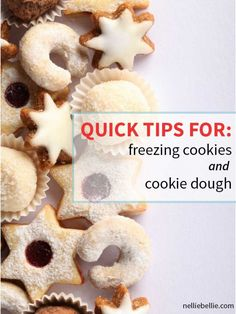 Freezing cookies or cookie dough is much simpler than you might expect. Freezing cookies or cookie dough is much simpler than you might expect. With this simpler tutorial we will give you the tips and tricks to making it work. Freezer Cookies, No Bake Cookies, Yummy Cookies, Cookies Et Biscuits, Baking Cookies, Cupcakes, Cupcake Cookies, Baking Recipes, Cookie Recipes