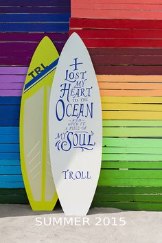 Summer 2015, Troll, Surfboard, Ocean, Surfboards, The Ocean, Surfboard Table, Sea