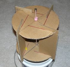 Picture of Attach the Paddles Wind Turbine Energy, Savonius Wind Turbine, Solar Energy, Solar Power, Renewable Energy, Alternative Energy Sources, Science Fair Projects, Sustainable Energy, Wind Power