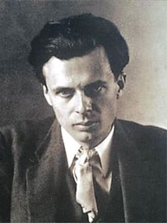 Aldous Leonard Huxley (1894-1963) was an English writer best known for his novels including Brave New World and a wide-ranging output of essays, Huxley also edited the magazine Oxford Poetry, and published short stories, poetry, travel writing, film stories and scripts.