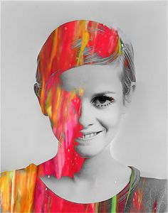 Twiggy by Rex Hicks Twiggy, Pop Art, Androgynous Look, Kunst Online, Museum, Cindy Crawford, Linda Evangelista, Claudia Schiffer, Victoria Secrets
