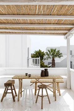 bambus sonnenschutz terrasse gestalten