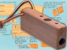 3 Fun And Easy DIY Woodworking Projects That You Can Complete This Weekend Diy Projects To Try, Projects For Kids, Crafts To Make, Wood Projects, School Projects, Woodworking Projects Plans, Teds Woodworking, Homemade Musical Instruments, Flautas