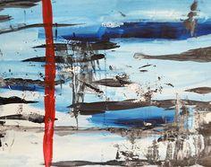 Timeline - Andrea Anderegg #abstractart