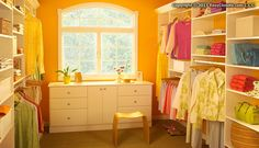 I turned a spare bedroom into a dressing room/closet with EasyCloset.com.  LOVE IT!!!  I highly recommend it!