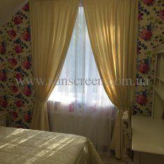 Нежная и такая же прекрасная комната, как и ее маленькая жительница. Шторы и покрывало нашего производства.