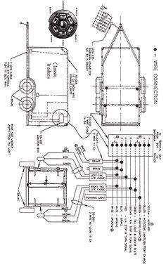 standard 4 pole trailer light wiring diagram automotive. Black Bedroom Furniture Sets. Home Design Ideas