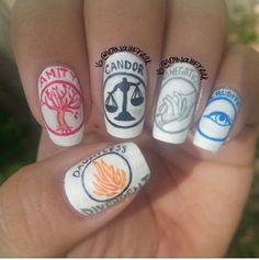 Divergent inspired nails