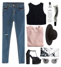 """""""--"""" by vervique ❤ liked on Polyvore featuring Chicnova Fashion, Jeffrey Campbell, Lush Clothing, Wonderland, H&M, Forever 21, philosophy and Aesop"""