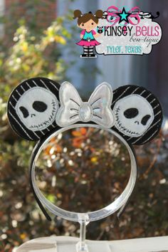 www.facebook.com/KinseyBells Custom mouse ears and so much more!