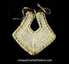 Crochet a Vintage Bib