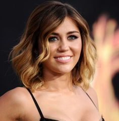 Short Brown hair with ombre highlights