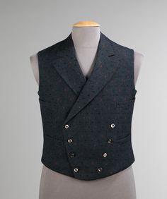 Vest, circa 1904 via The Costume Institute of The Metropolitan Museum of Art