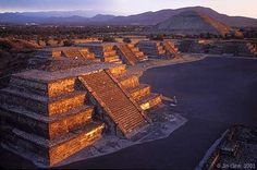 Teotihuacan, Mexico. Just outside of Mexico City, this is the largest Aztec in ruins. It once housed around 250,000 in 200 BC. Being here was such an inspiring and humbling experience. I was walking and sitting and snapping photos of a place where the most powerful civilization on the planet once called home, and was then was destoyed. I HIGHLY recommend visiting here if you have the chance-it's amazing.