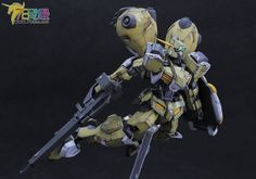GUNDAM GUY: HG 1/144 Gundam Gusion Rebake - Painted Build