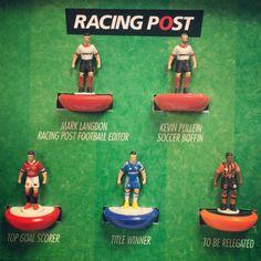 Special Subbuteo job for Racing Post