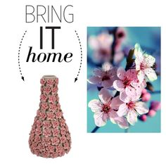 """""""Bring It Home: Small Flower Vase"""" by polyvore-editorial ❤ liked on Polyvore featuring interior, interiors, interior design, home, home decor, interior decorating, Imax Home and bringithome"""