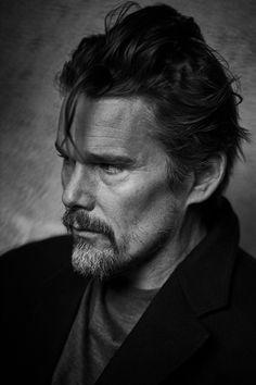 Ethan Hawke by Peter Lindbergh Peter Lindbergh, Portrait Photography Men, Fashion Photography, Glamour Photography, People Photography, Lifestyle Photography, Editorial Photography, The New Yorker, Black And White Face