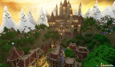 Wrath of the Fallen Map para Minecraft 1.4.5