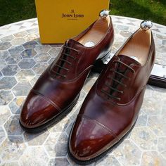 Our last pair of JohnLobb CITY model for sale at $695 + $35 shipping worldwide… Ascot Shoes, Men's Shoes, Shoe Boots, Dress Shoes, Groom Shoes, Models For Sale, Socks And Sandals, Shoe Tree, Mens Gear