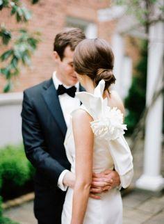 Swooning over this dress: http://www.stylemepretty.com/2014/06/13/timeless-southern-wedding-in-chapel-hill/ | Photography: Graham Terhune - http://grahamterhune.com/