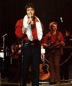 1970 8 07 Rehearsals at the Las Vegas Hilton.