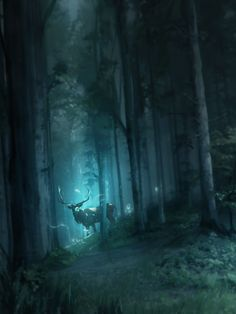 ArtStation - Forest, Franklin Chan