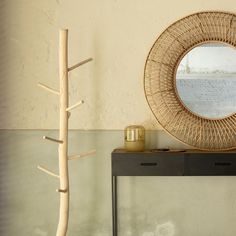 A pearl-like design on a larger scale. Opulence abounds with the Vamor Mirror from Pomax. Flanked by a trellised pattern made from bamboo, the mirror creates the semblance of hand-craftsmanship to provide an awe-inspiring centrepiece. Pair with one of the products from the Bamboo home accessory range to complete the look. Home Comforts, Pattern Making, Home Accessories, Entryway Tables, Larger, Bamboo, Centerpieces, Scale, Pearl