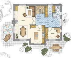 Schlüsselfertige Architektenhäuser – massiv gebaut | GfG Hoch-Tief-Bau - Architektenhäuser
