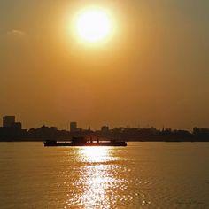 Sunset sur Tonle Sap - Phnom Penh