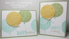 5 Days Until Sale-A-Bration: Celebrate Today Birthday  Stampin' Up!