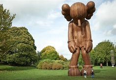 KAWS Yorkshire Sculpture Park: the New York artist continues ascendency to contemporary art elite in Yorkshire show on stupefying scale. Yorkshire Sculpture Park, British Countryside, Museum Exhibition, Global Art, Public Art, American Artists, Graphic, Art World, Les Oeuvres