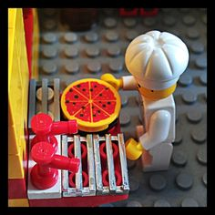 My Lego pizza man:)