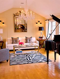 Oh. Em. Geeeeeeeeeee! EXACTLY how I pictured my piano room! :O