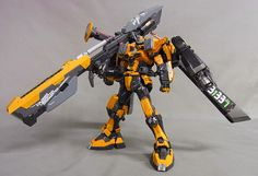 Custom Build: 1/100 Great Buster Gundam - Gundam Kits Collection News and Reviews