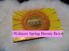 Walmart Spring Beauty Box Unboxing