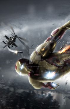 Iron Man 3 poster print by harben pictures