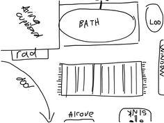 Bathroom layout1 Bathroom, Math Equations, Glass, Washroom, Drinkware, Full Bath, Corning Glass, Bath, Bathrooms